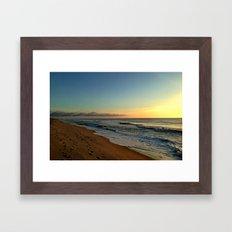 Walks Before Dawn Framed Art Print
