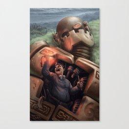 The Junkman Canvas Print