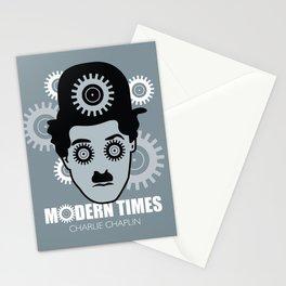 Modern Times - Alternative Movie Poster Stationery Cards