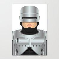 robocop Canvas Prints featuring Robocop by Capitoni