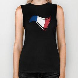 The Flag of France I Biker Tank