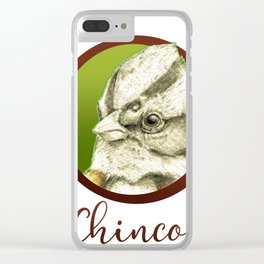 Chincol nortino Clear iPhone Case