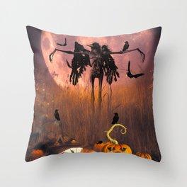 Halloween design Throw Pillow