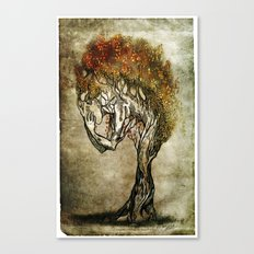 Crying Dryad Canvas Print