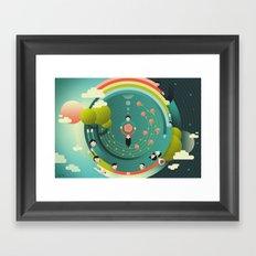 Wonderful (What a Wonderful World) Framed Art Print