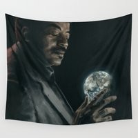 cosmos Wall Tapestries featuring Cosmos by mycolour