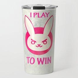 I play to win Travel Mug