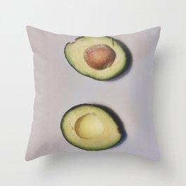 Healthy Fats | Avocado (2) Throw Pillow