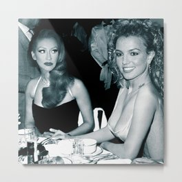 FEUD: BRITNEY AND CHRISTINA Metal Print