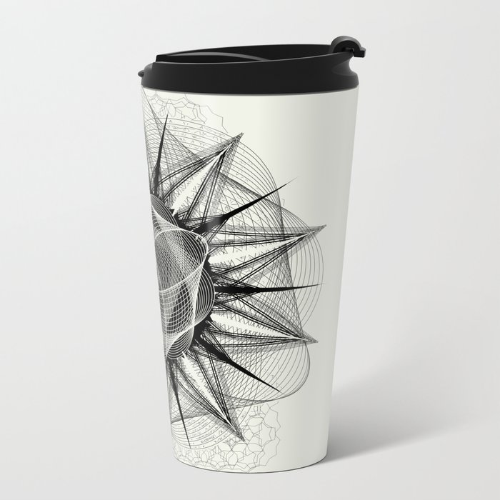 styr stryy monochrome Metal Travel Mug