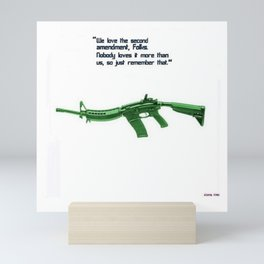 American Problems Pop-Art Gun Series #8 by Jéanpaul Ferro - 2nd Amendment Mini Art Print
