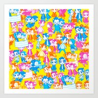 sterek Art Prints featuring STEREK /#4 by Yoshimoto