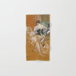 Henri de Toulouse-Lautrec - Conquête de passage (Passing Conquest) Hand & Bath Towel