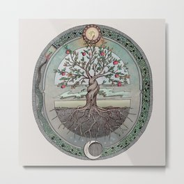 Origins Tree of Life Metal Print