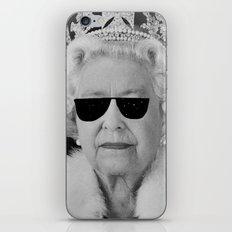 BE COOL - The Queen iPhone & iPod Skin