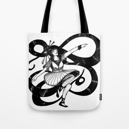 Dancing natural Tote Bag