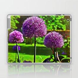 Purple Allium Spheres Laptop & iPad Skin