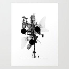 Drilling Art Print