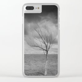 From Time to Time Clear iPhone Case