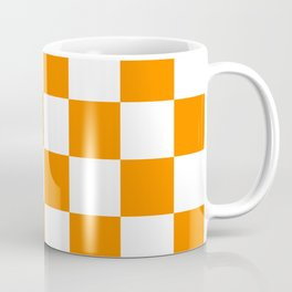 Orange and White Coffee Mug