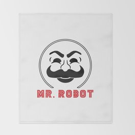 MR Robot Fsociety Throw Blanket