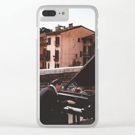 pianist Clear iPhone Case