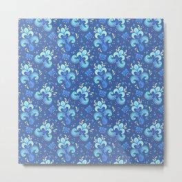 fleur de otachi - dark Metal Print