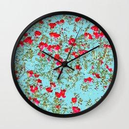 Not Enough Flowers #society6 #decor #buyart Wall Clock