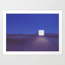 A Night In The Desert Art Print