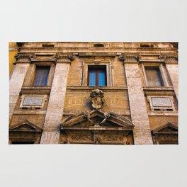 Roman Facade of Italy Rug