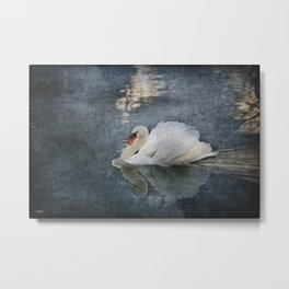 Seeing Off the Day Metal Print