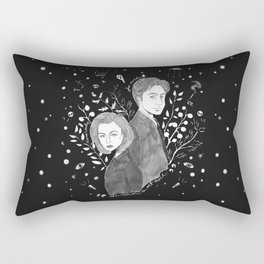 The Truth is Out There - Mulder and Scully Rectangular Pillow
