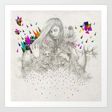 ECHOES by Peter Striffolino and Kris Tate Art Print