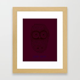 Hoot Hoot Framed Art Print