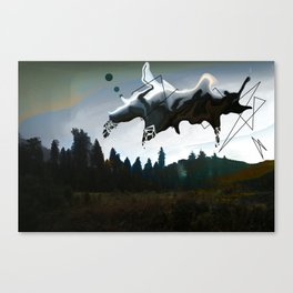 hall of the mountain king Canvas Print