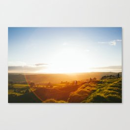Peak District Sunset Canvas Print
