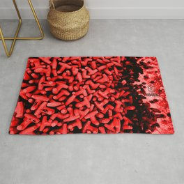 Cluster of Tetrapods (COLORS 2) Rug