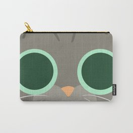 Cat Face 5 Carry-All Pouch
