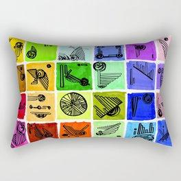 VA-RI-NATION Rectangular Pillow