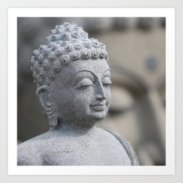 Buddha Stone Art Print