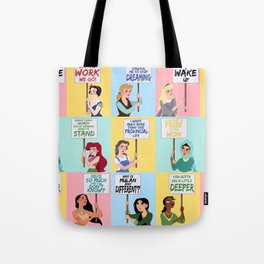 Protest Princesses Tote Bag