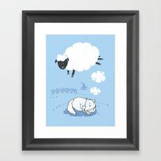 Ssshheep..! Framed Art Print