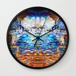 Infinite Abundance Wall Clock