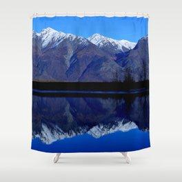 Knik River Mts Shower Curtain