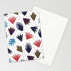 Scandi Leaves Stationery Cards