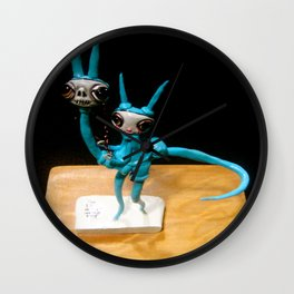beautiful nightmare Wall Clock