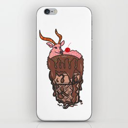Sheep ice cream iPhone Skin