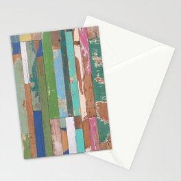 Maui Fence Hawaii Colorful Art Stationery Cards
