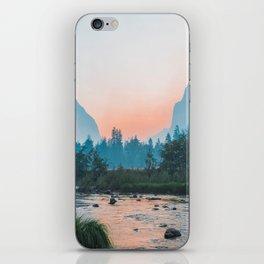 Pastel Yosemite #society6 #buyart iPhone Skin