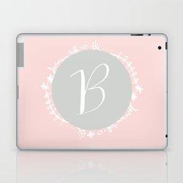 Garland Initial B - Grey Laptop & iPad Skin
